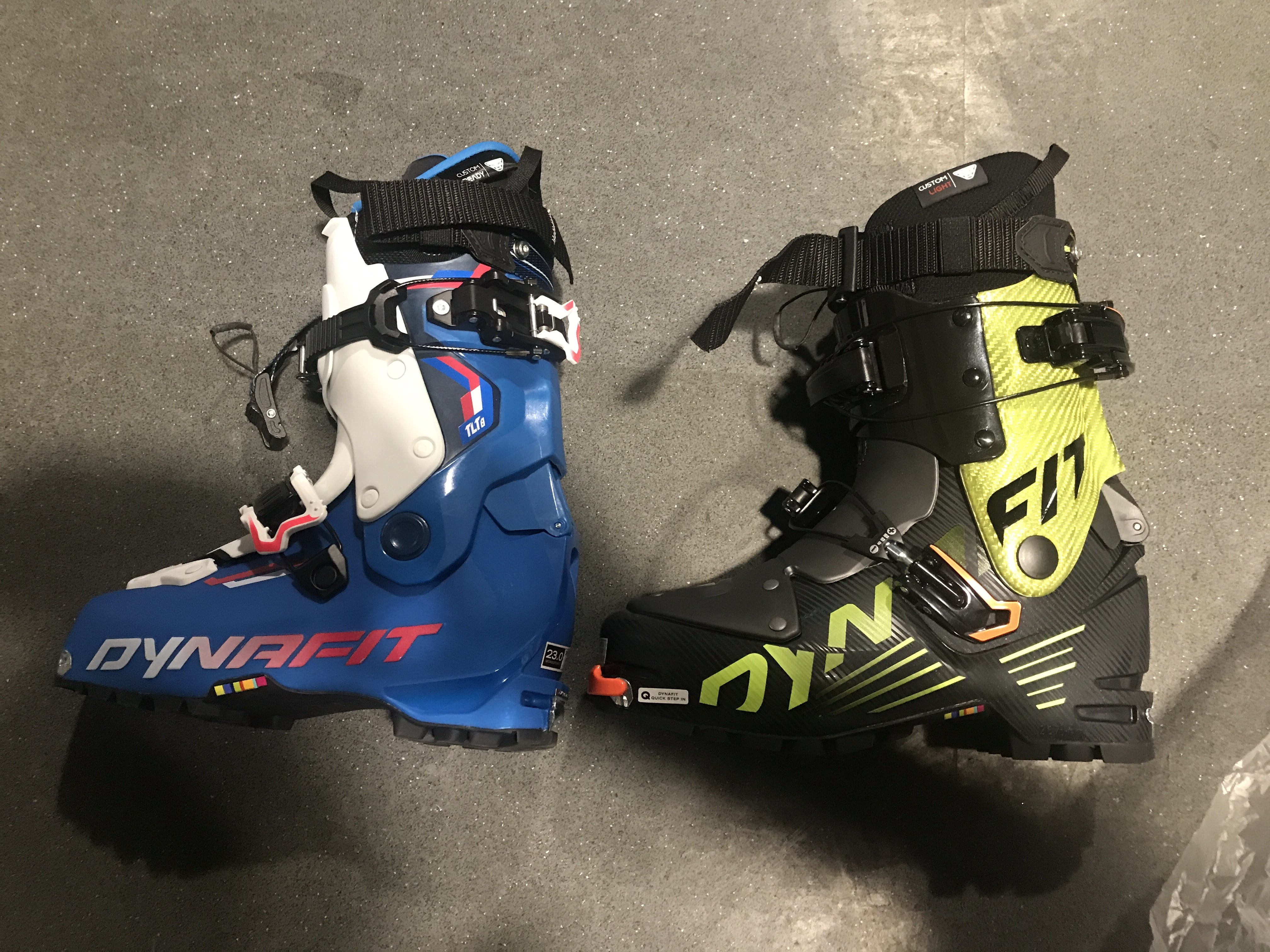 Mini Mountaineers Dynafit boots