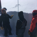 JHSC athletes during Avalanche Level 1 cert